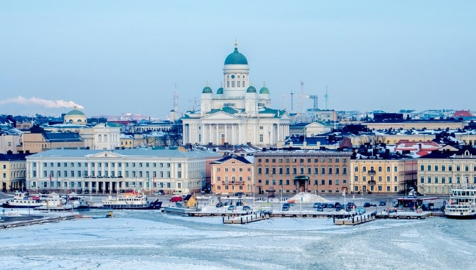 The average salary in Finland